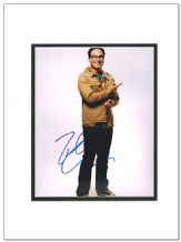 Johnny Galecki Autograph Signed Photo - The Big Bang Theory